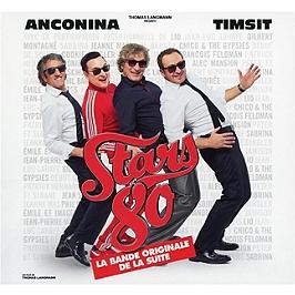 Stars 80 - la suite, Edition limitée digipack 2CD + 1 DVD., CD + Dvd