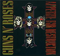 Appetite for destruction - deluxe edition de Guns'N'Roses en CD Digipack