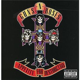 Appetite for destruction, Edition CD deluxe - album remasterisé., CD