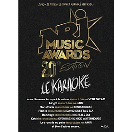 NRJ music awards 20th edition - le karaoké, Dvd Musical