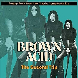 Brown acid the second trip, Vinyle 33T