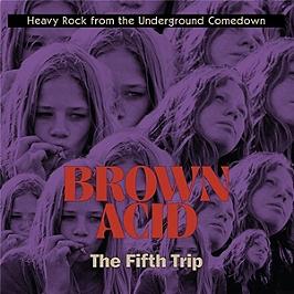 Brown acid - The fifth trip, Vinyle 33T