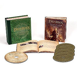 The lord of the rings: the return of the king, Edition coffret de luxe 4 CD + 1 Blu-ray., CD + Dvd