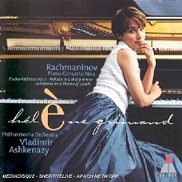 Piano Concerto N 2, CD