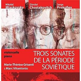 Trois sonates de la période soviétique, CD Digipack