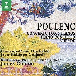 Concerto Pour 2 Pianos - concerto pour piano - aubade, CD