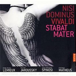 Vivaldi: Nisi Dominus, Stabat Mater. Marie-Nicole Lemieux, Philippe Jaroussky, CD Digipack