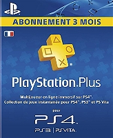 playstation plus hang card abonnement 3 mois ps4 pour playstation 4 jeux vid os espace. Black Bedroom Furniture Sets. Home Design Ideas