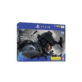 PS4 SLIM 1 Tb F black + call of duty modern warfare (PS4)