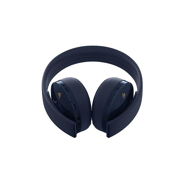Ps4 Wireless Headset Gold Navy Blue Ps4 Pour Playstation 4