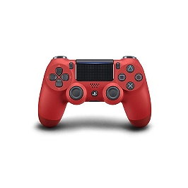 Manette dual shock 4 - rouge V.2 (PS4)