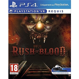 Until dawn : rush of blood (VR) (PS4)