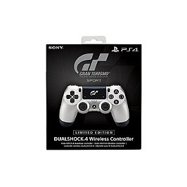 Manette dual shock 4 - GT sport silver (PS4)