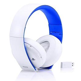 Micro-casque sans fil stéréo 2.0 - blanc (PS4)