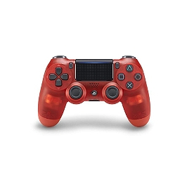 Manette dual shock 4 - Crystal red (PS4)