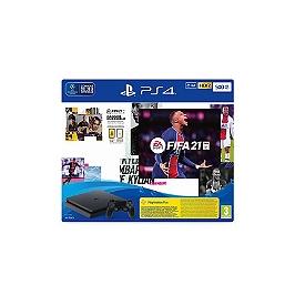 Pack PS4 500 Go + FIFA 21 + Voucher FUT + Voucher PS+ 14 jrs (PS4)