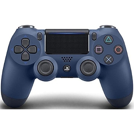 Manette dual shock 4 - midnight blue V.2 (PS4)