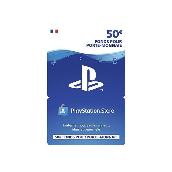 Carte Cadeau Espace Culturel Leclerc.Carte Playstation Network 50 Euros Ps4