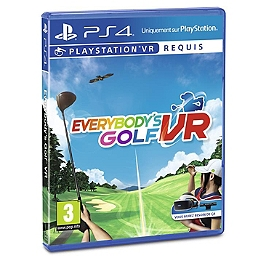 Everybody's golf PS VR (PS4)