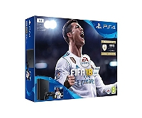 PS4 SLIM (1To) E Noire + FIFA 18 + PS+ 14 Jours (PS4)