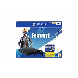 PS4 slim 500Go F black + voucher fortnite (PS4)