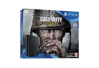 PS4 (1To) E Black + Call of Duty : World War II + That's you (à télécharger) (PS4)