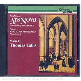 Music by Thomas Tallis, CD
