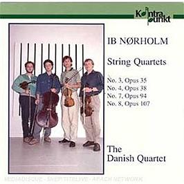 Quatuors à cordes N.3, 4, 7, CD