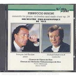 Concerto for piano, orchestra and male choir opus 39, CD