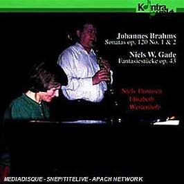 Sonatas op 120 - Fantasiestücke op 43, CD