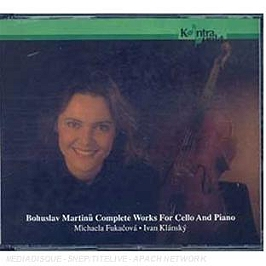 Complete works for cello and piano, CD + Box
