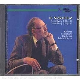Symphony 1 op 10 - Symphony 3 op 57, CD