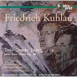 3 grands trios pour 3 flûtes op 86, CD