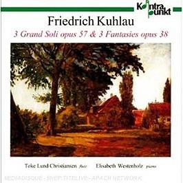 Grand solo op.57 n°1,2,3 - fantaisie op.38 n°1,2,3, CD