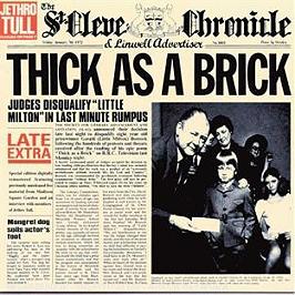 Thick as a brick, CD
