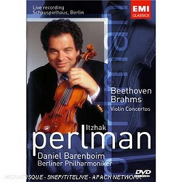 Concertos pour violon, Dvd Musical