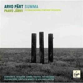 Symphony 3;Trisagion;Summa;Fratres;Festina Lente;Silouans Song;Cantus.., CD