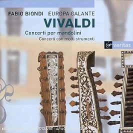 Concertos pour mandolines, Concertos pour divers instruments, CD