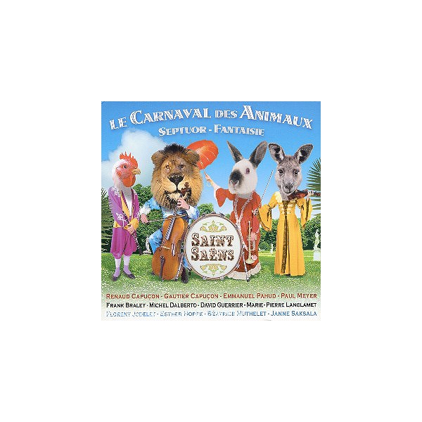 Le Carnaval Des Animaux, Septuor Opus 65, Fantaisie Pour Violon & Harpe