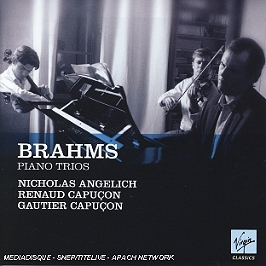 Trio Pour Piano N°1 Opus 8, Trio Pour Piano N°2 Opus 87, Trio Pour Piano N°3 Opus 101, CD