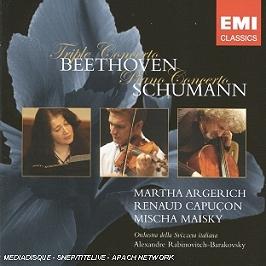 Triple Concerto Opus 56, Concerto Pour Piano Opus 54, CD