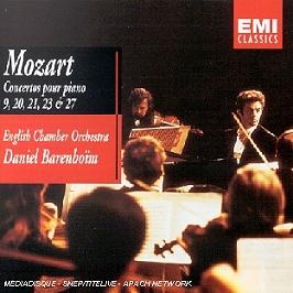 Concertos Pour Piano 9, 20, 21, 23 & 27, CD