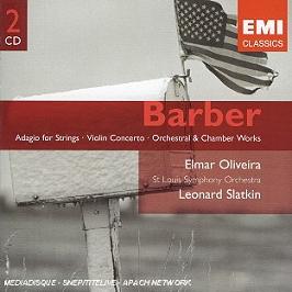 Adagio pour cordes, concerto pour violon..., CD