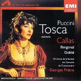 Tosca (extraits), CD