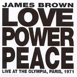 Love power peace: live at the Olympia, Paris (1971), CD