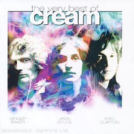 The very best of cream, CD