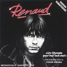 Un Olympia pour moi tout seul, CD