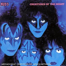 Creatures of the night, CD