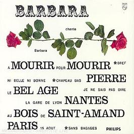 Barbara Chante Barbara, CD