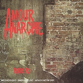 Amour anarchie, CD Digipack